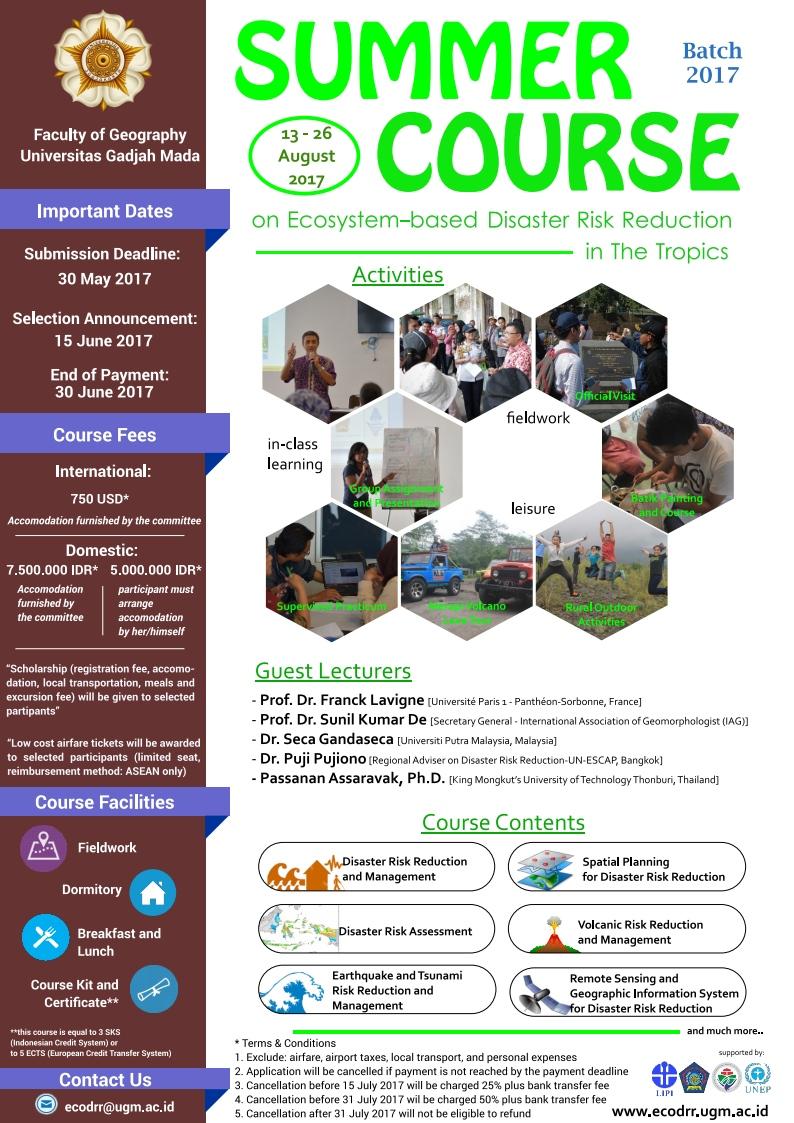Call To Participate Summer School Programs Sekolah Pengajian Siswazah
