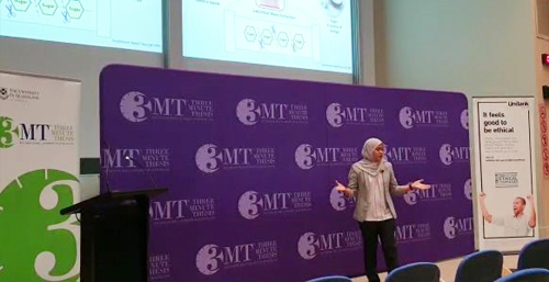 UPM Participates in the Asia-pacific 3MT 2019 Competition in Australia