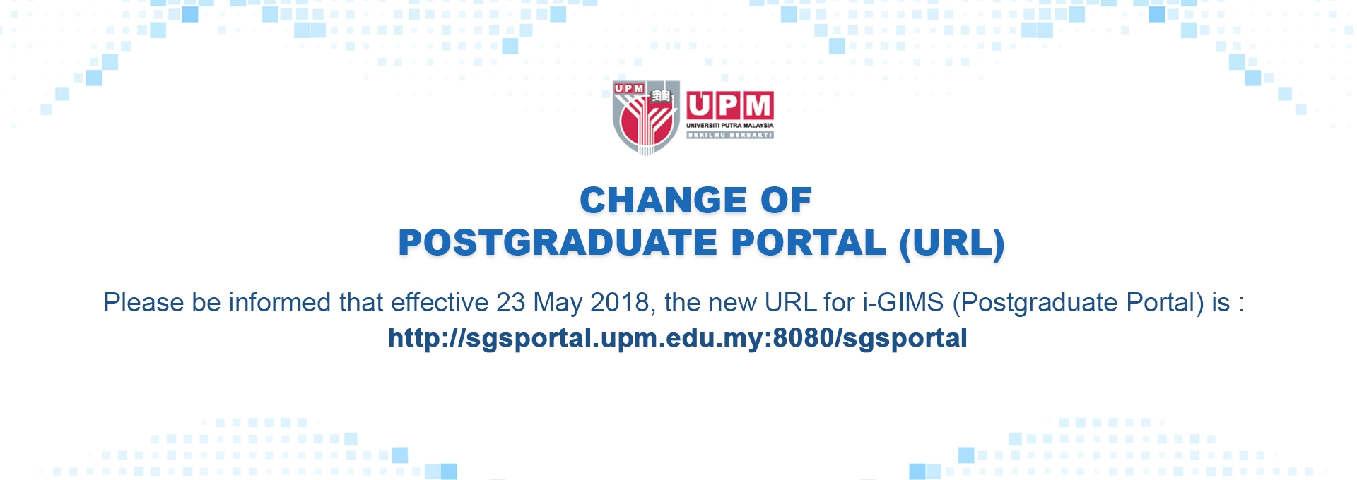 Home school of graduate studies apply to upm toneelgroepblik Choice Image
